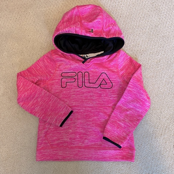 Fila Other - 2 for $30 - Fila pink pullover hoodie